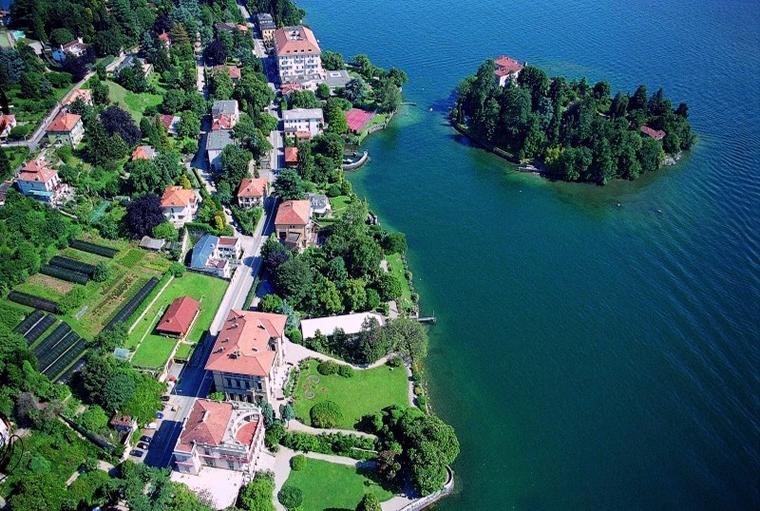 Isolino di San Giovanni Lago Maggiore
