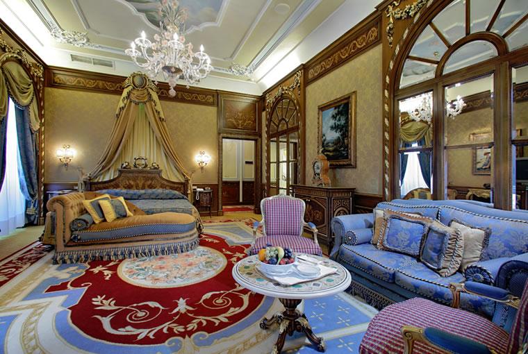 La prestigiosa  suite Hemingway del Grand Hotel des Iles Borromees
