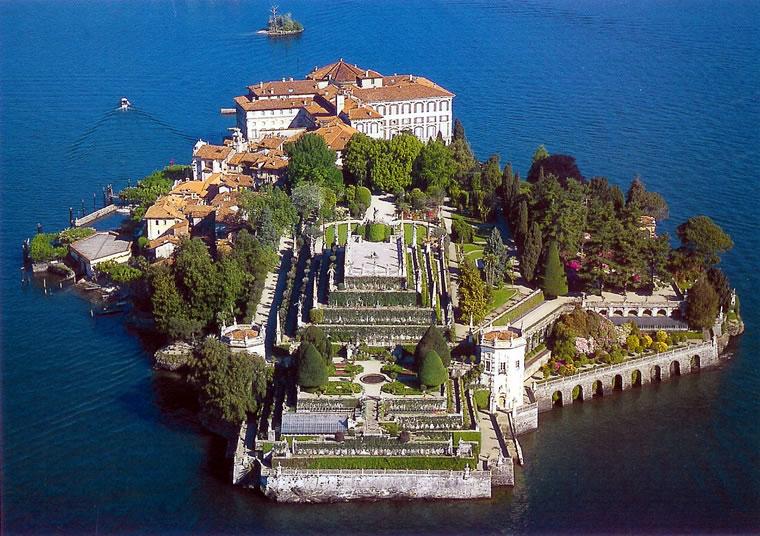 L'Isola Bella ed il giardino barocco