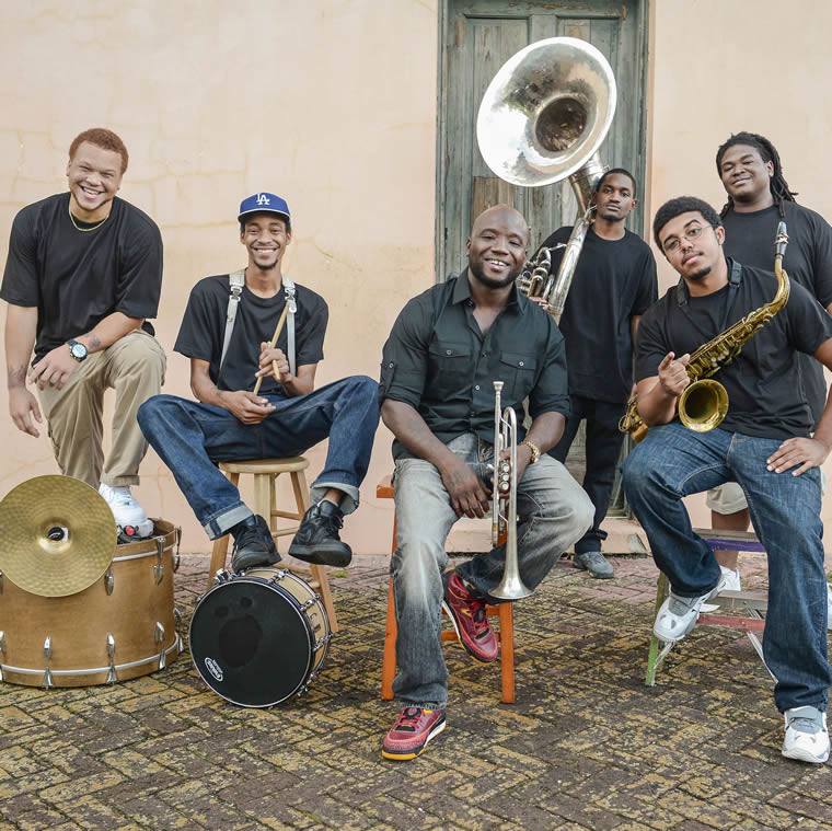 New Breed Brass Band al JazzAscona