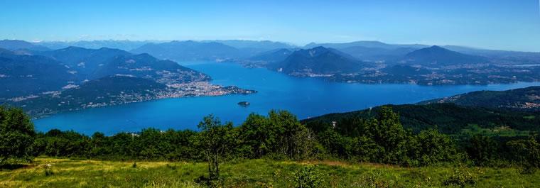 Lago Maggiore dal Mottarone