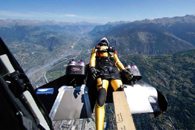 Yves Rossy JetMan