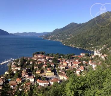 Panorama di Cannero Riviera