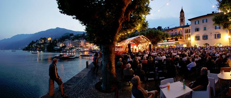 Festival Jazz ad Ascona sul Lago Maggiore