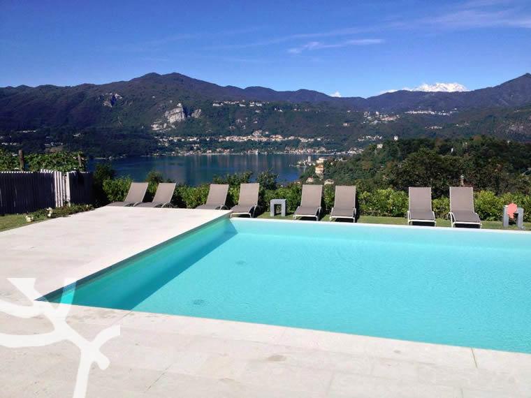 Appartamenti con piscina Lago d'Orta