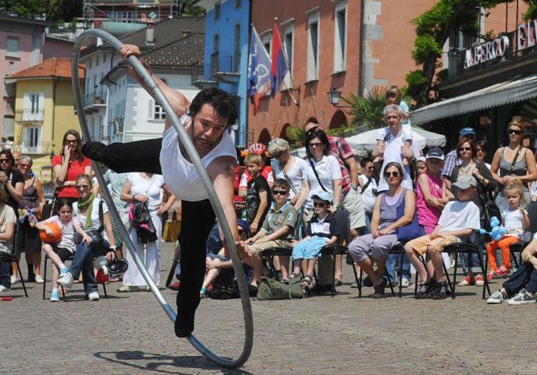 Festival degli Artisti di Strada: ad Ascona