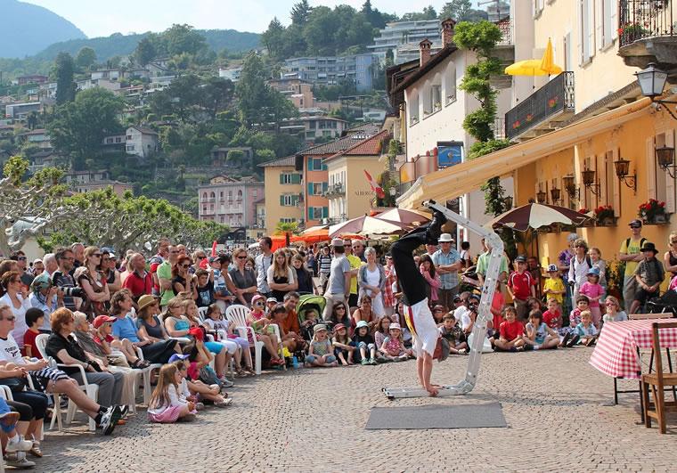 Festival degli Artisti di Strada ad Ascona