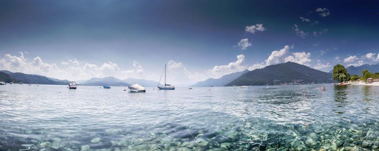 Acque caraibiche del Lago Maggiore