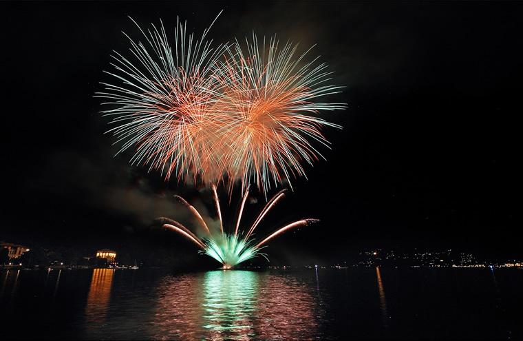 Fiori di Fuoco Lago Maggiore
