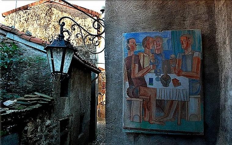 Arcumeggia il paese dei pittori
