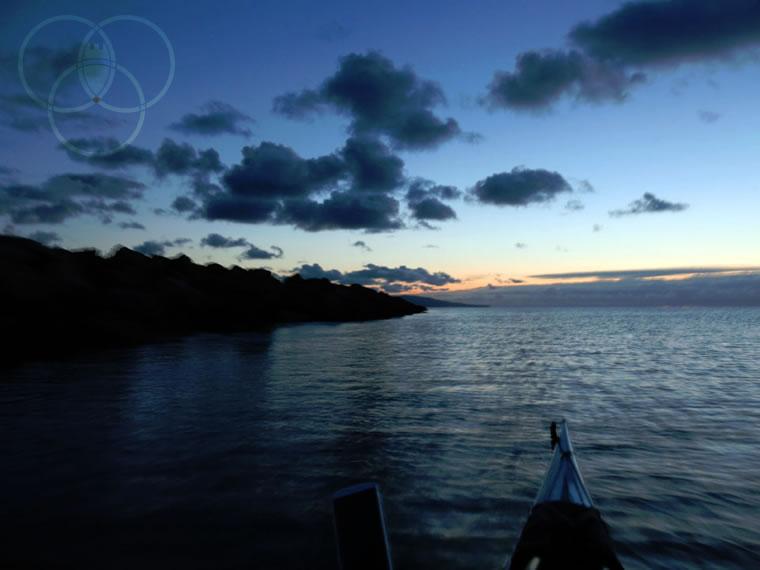 In Kayak sul lago Maggiore