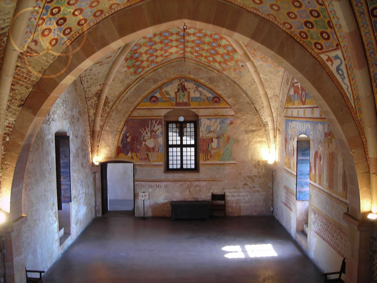 Rocca Borromeo di Angera: la sala consiliare