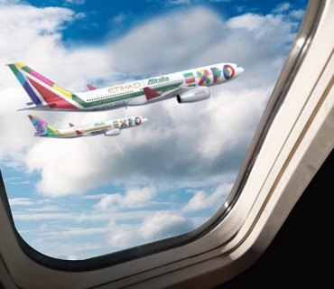 Etihad Airways ed Alitalia co-sponsorship di Expo Milano 2015