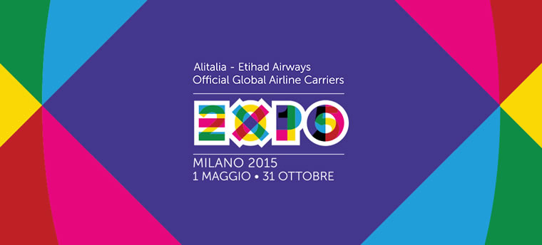Alitalia Official Global Airline Carriers di Expo Milano 2015