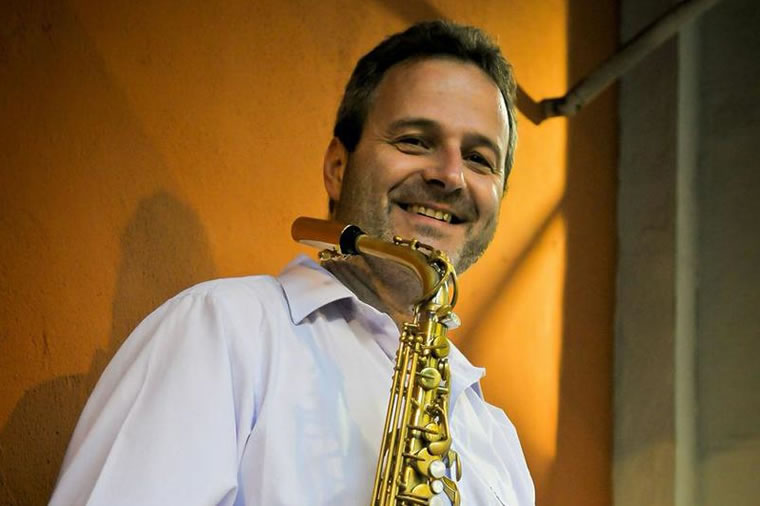 George Robert Jazz Cat Club Ascona