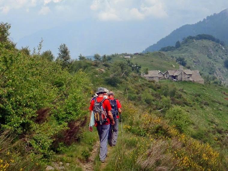 Al rifugio Alpe Colma