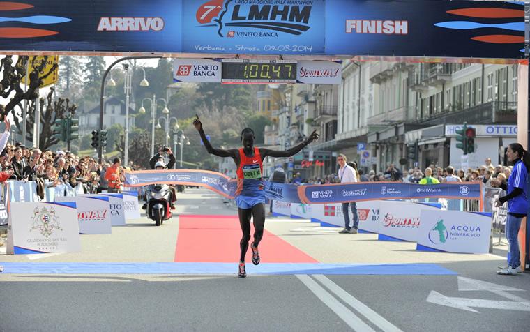 Edwin Kibet Koech vince la LMHM 2014
