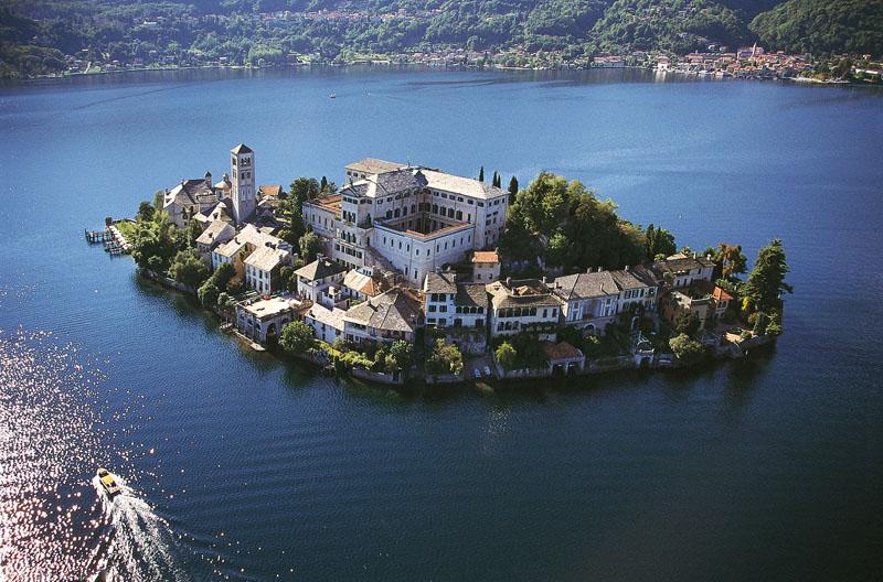 Lago d'Orta Isola di San Giulio