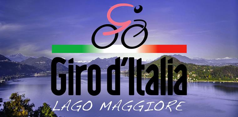 Il Giro d'Italia sul Lago Maggiore