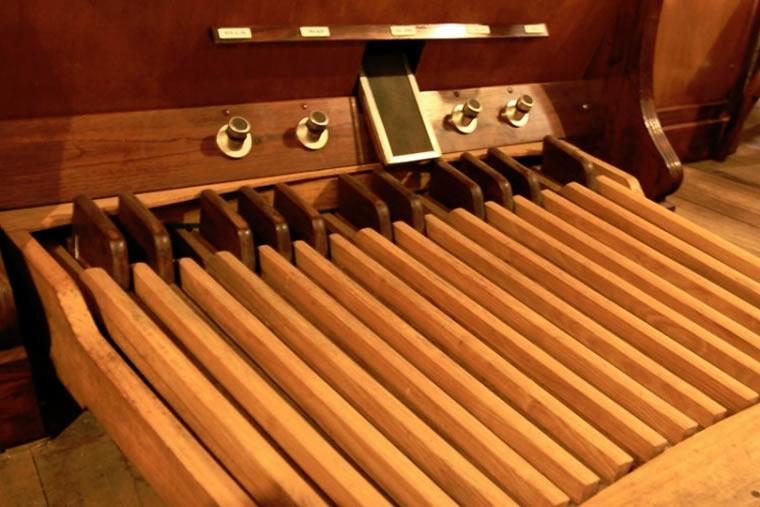 Organo della chiesa parrocchiale di san Giusto