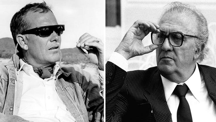 Sam Peckinpah e Federico Fellini