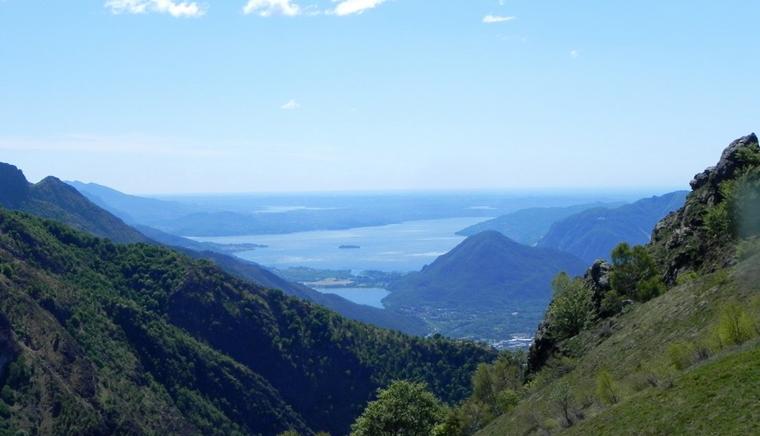 escursionismo sul Lago Maggiore