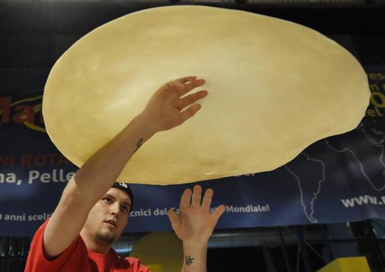 nazionale acrobatica italiana di pizza