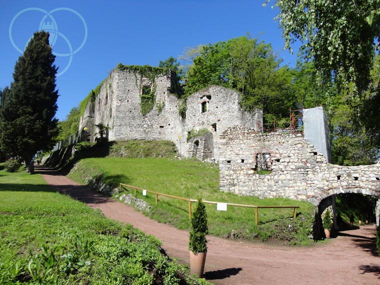 Rocca Borromeo di Arona: strada segreta