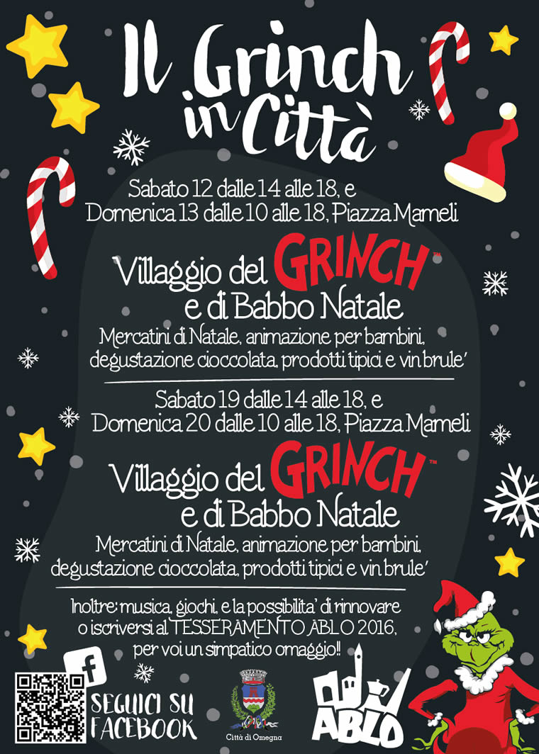 Il Grinch a Omegna