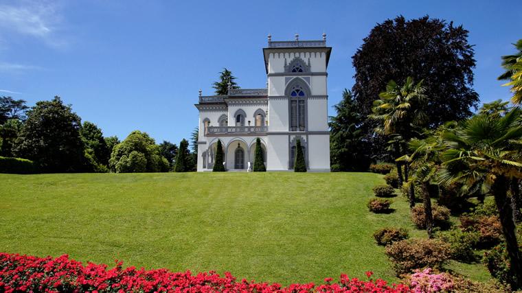 Villa Tadini Lesa