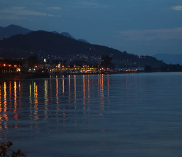 Luino by night