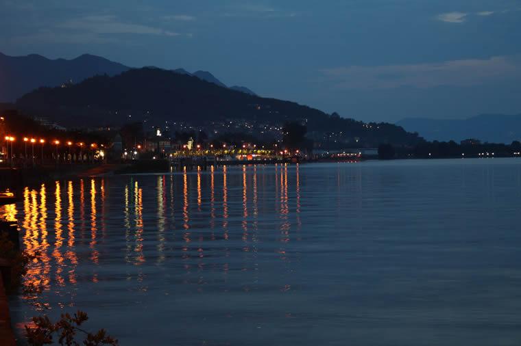 Luino by night