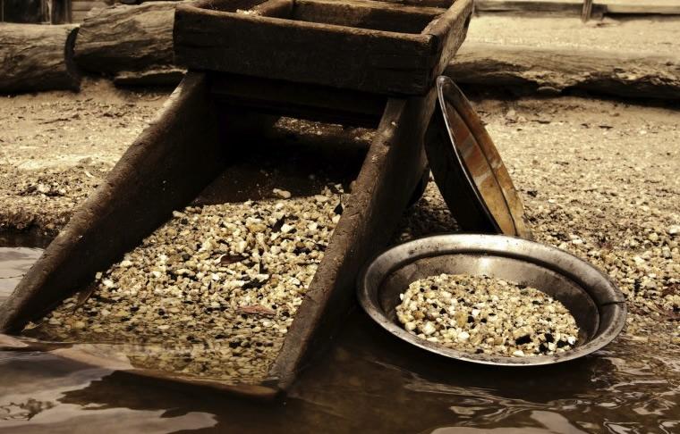 Ricerca dell'oro nel Ticino