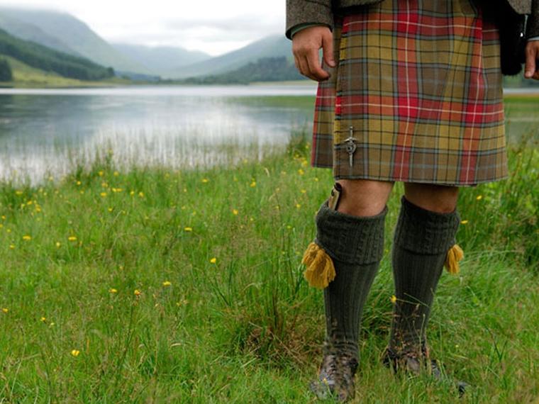 Scozia sul lago Maggiore