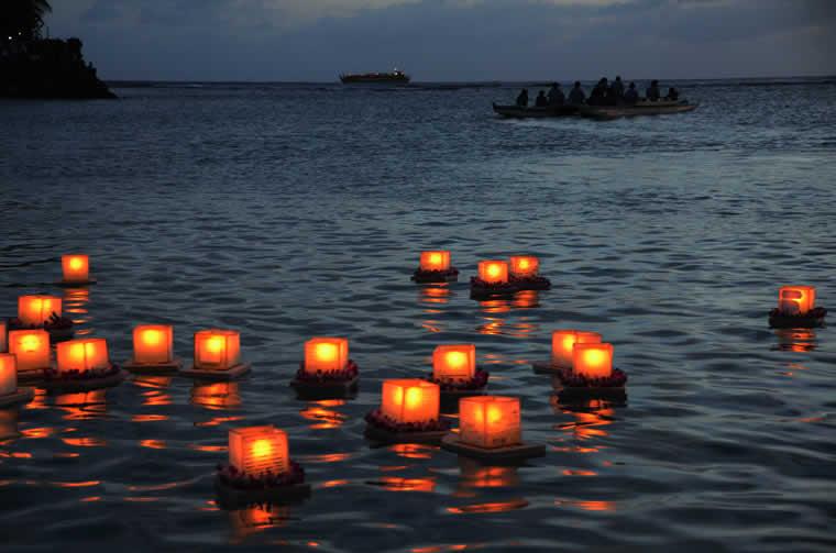 Lanterne galleggianti Maccagno