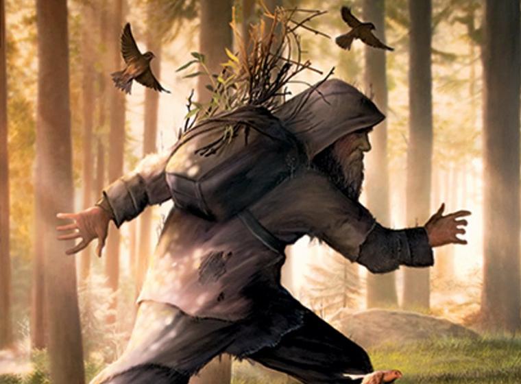 Eremita nei boschi