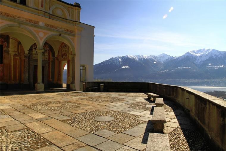 Balconata Madonna del Sasso Locarno