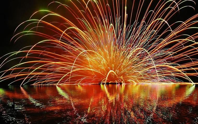 Fuochi d'artificio Lago Maggiore