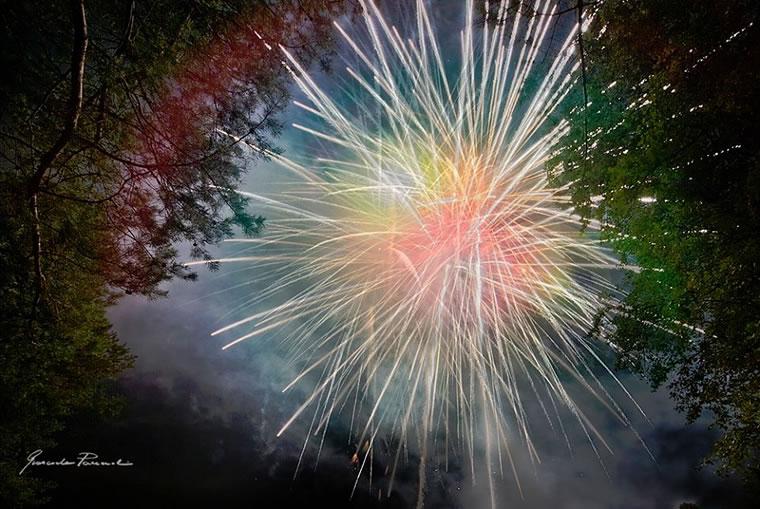 Fuochi d'artificio Mottarone