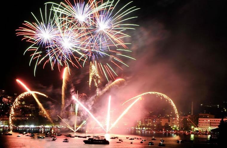 Fuochi d'artificio Omegna