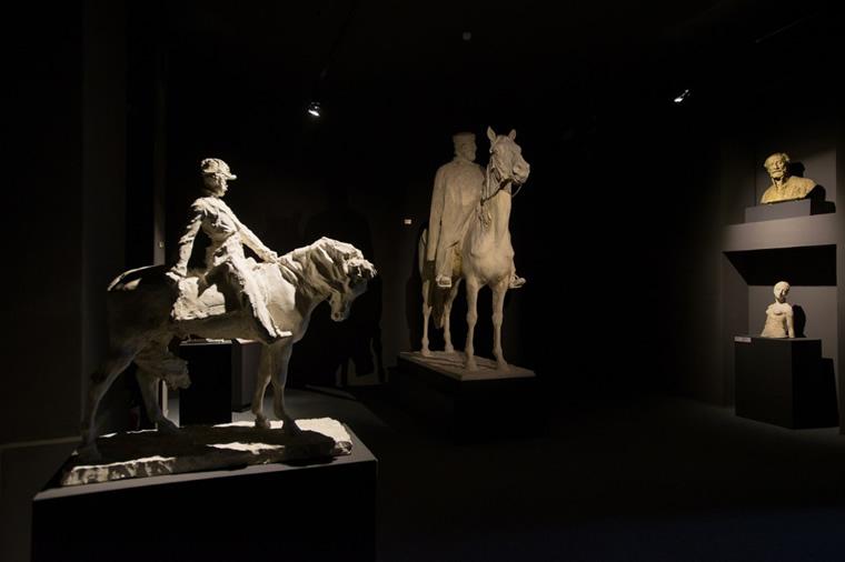 Garibaldi a cavallo di Paolo Troubetzkoy