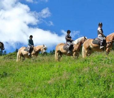 Trekking a cavallo