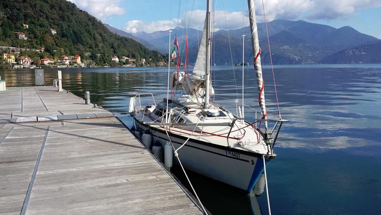 Barca a vela Cannero
