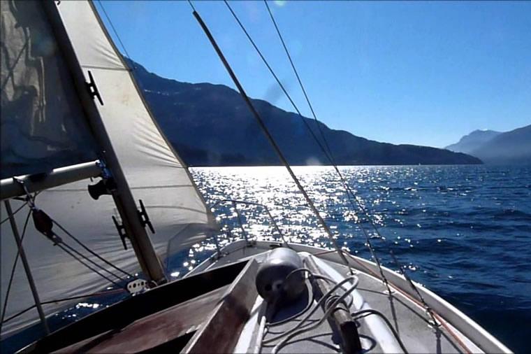 Veleggiando Lago Maggiore