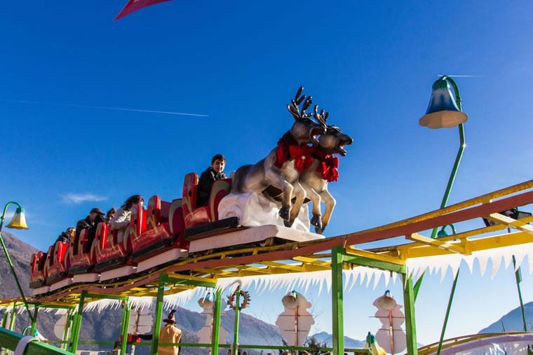 Slitta volante di Babbo Natale