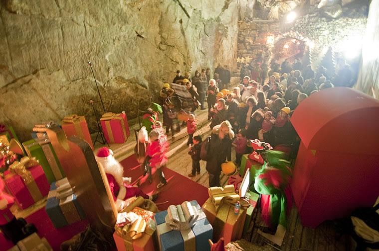 Magica grotta di Babbo Natale