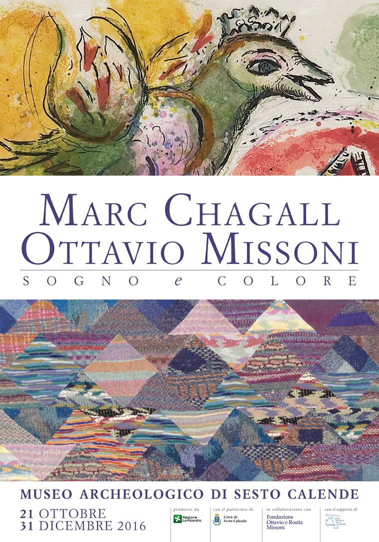 Chagall e Missoni: sogno e colore