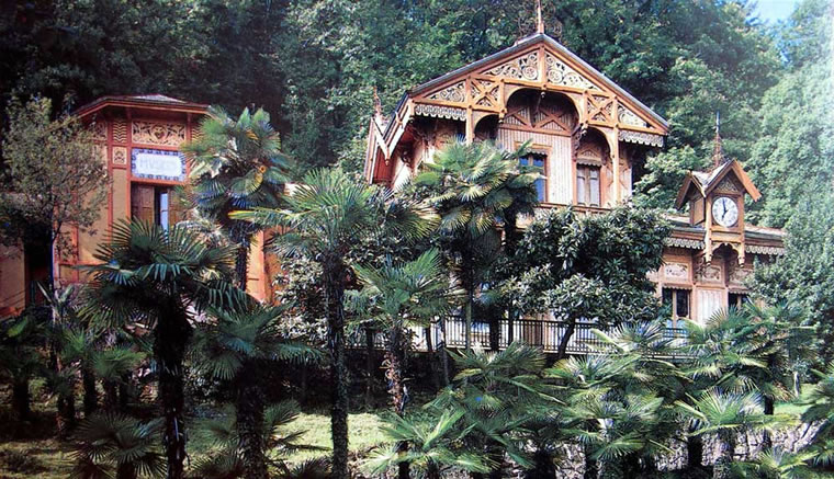 Chalet Museo villa Faraggiana