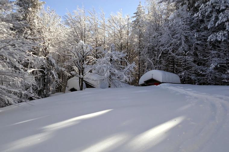 Inverno in baita