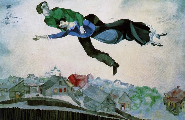 Marc Chagall Volare